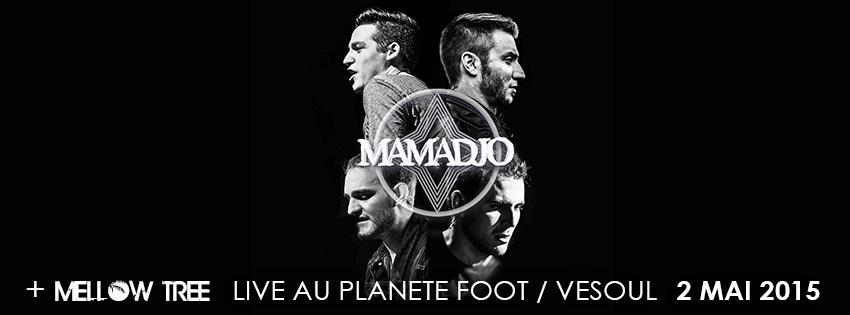 Concert planète foot  Mamadjo